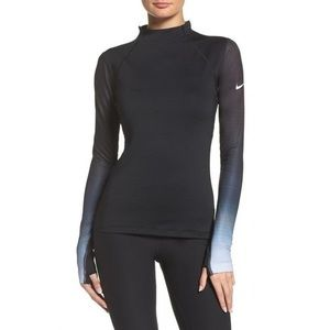 NIKE pro hyperwarm fade long sleeve